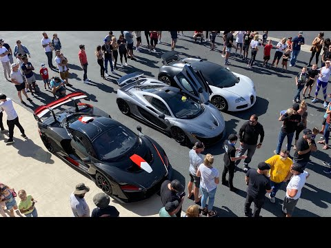 McLaren P1 Challenges my Bugatti Veyron to 1/2 Mile Race