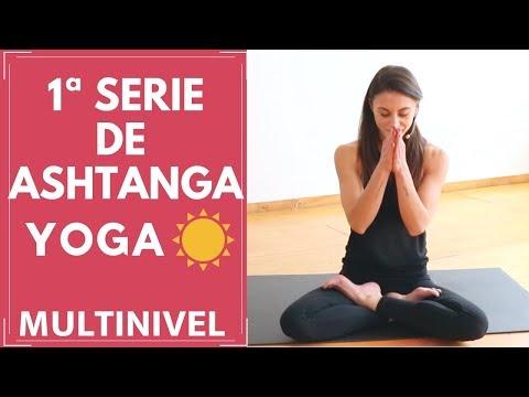 PRIMERA SERIE DE ASHTANGA YOGA | VARIACIONES PARA PRINCIPIANTES | MANTRA.- Muktayoga Con Juliana