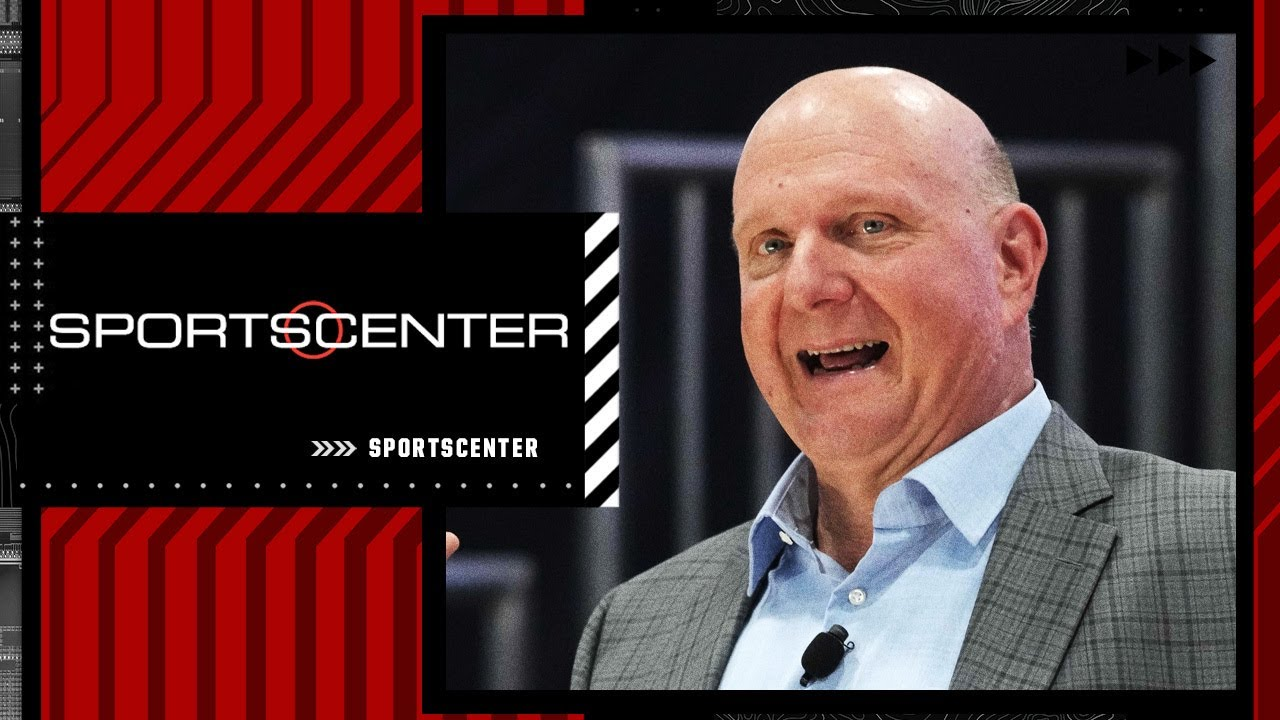 Steve Ballmer talks to Ramona Shelburne about the Clippers' new arena and more | SportsCenter