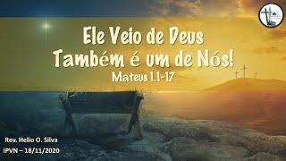 Mateus 1.1-17 - Ele Veio de Deus. Também é Um de Nós!