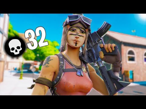 INSANE 32 Kill Solo Vs. Squads On Controller! (Fortnite Chapter 2)