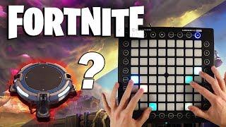 Launchpad in FORTNITE Battle Royale Remix