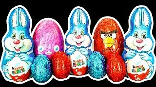 Angry Birds Easter Egg Hunt Kinder Surprise Bunny Population Control Extreme Unwrapping