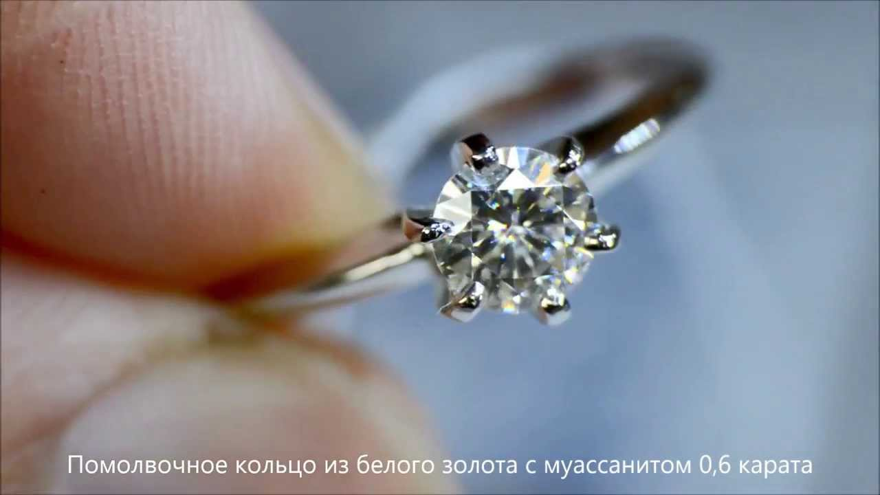 Бижутерия из Китая: серебряное кольцо с камнями - YouTube