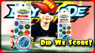 Beyblade Burst Toy Hunting for our 10K Giveaway at Target