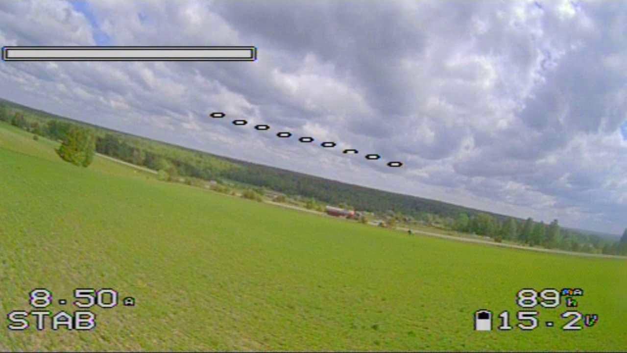 Мой первый FPV полет на FOXEER RAZER картинки