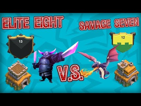 II Clash Of Clans I Elite Eight Vs Savage Seven I Attacks II