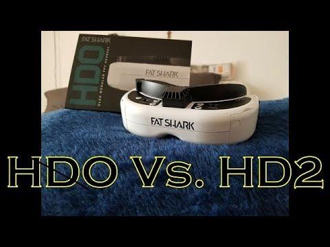 Fatshark HDO vs. HD2. In love with HDO!