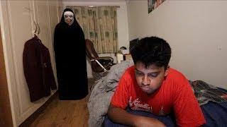 "The Nun ""VALAK"" SCARE PRANK On Little Brother (hilarious)"