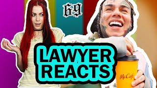 REAL LAWYER Reaction to 6ix9nine PUNANI (Official Music Video)