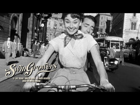 Swingrowers - Via Con Me (It's Wonderful) - (Official Music Video) Vespa in Rome