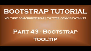Bootstrap tooltip thumbnail