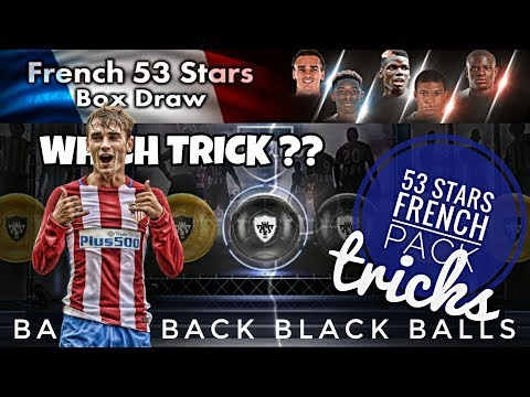 French 53 Stars Pack Opening - PES 2018