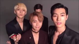 eng sub knk 크나큰 kwave photoshoot live stream 161205