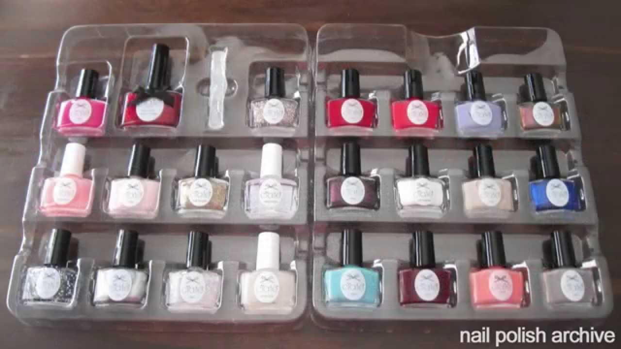 Ciate nail polish advent calendar review nail ftempo for A nail salon fort wayne in