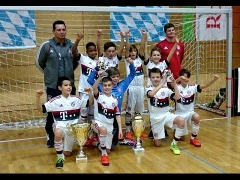 U11 Jhg2005 FC Bayern München vs VfB Stuttgart 6:0; FINALE Indigo Juniorcup 10.01.16 Erlenbach