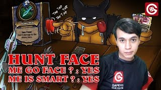 HUNT FACE HEARTHSTONE LEGENDE
