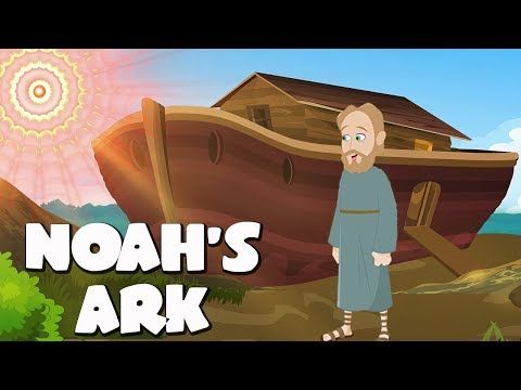 Noah's Ark Bible Story For Kids - ( Children Christian Bible Cartoon Movie )| The Bible's True Story