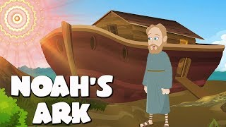 Gambar cover Noah's Ark Bible Story For Kids - ( Children Christian Bible Cartoon Movie )| The Bible's True Story