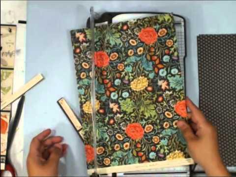 Scrapbook Mini Album: Vertical Paper Bag album Part 2