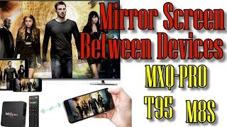 Video Mirror Screen Between Devices MEDIA BOX Miracast download MP3, 3GP, MP4, WEBM, AVI, FLV November 2018