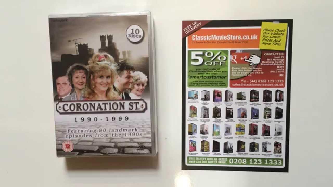 Coronation Street Dvd Box Set Review Youtube