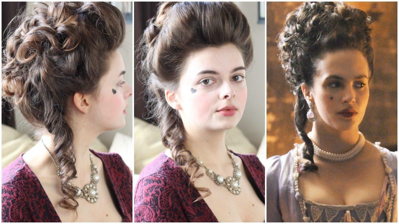 18th century hair tutorial | hulu harlots