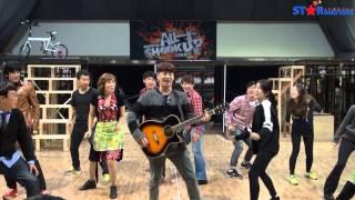 뮤지컬 올슉업(All Shook Up) 연습실 공개 - 손호영