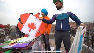 How Desi Boys Fly Kites In Punjab On Basant 😱 Ft. Bir Ramgharia