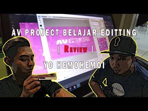 AV PROJECT BELAJAR EDITTING | Review | YO HEMOHEMOI