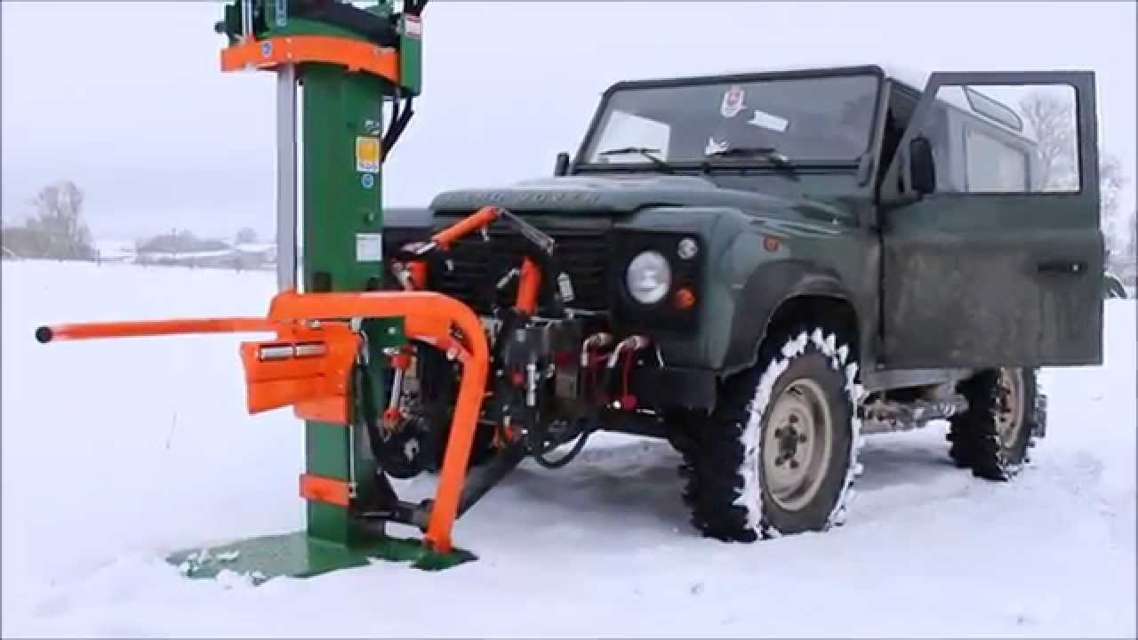 Land Rover Defender Fronthydraulik Youtube