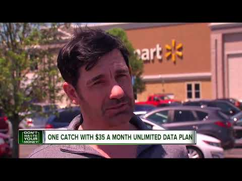 $35 A Month Unlimited Data Plan: Just One Catch