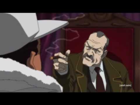 Boondocks - Get down or lay down mafia scene