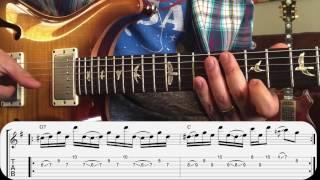 Trey Anastasio Guitar Lesson - The Anchor Slide Soloing Technique 1291995 YEM