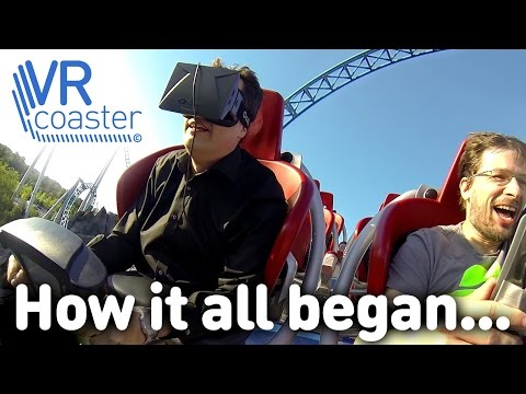 VR Coaster - How it all began (Oculus Rift on real roller coasters)