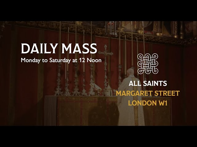 Daily Mass on the 16th April 2021