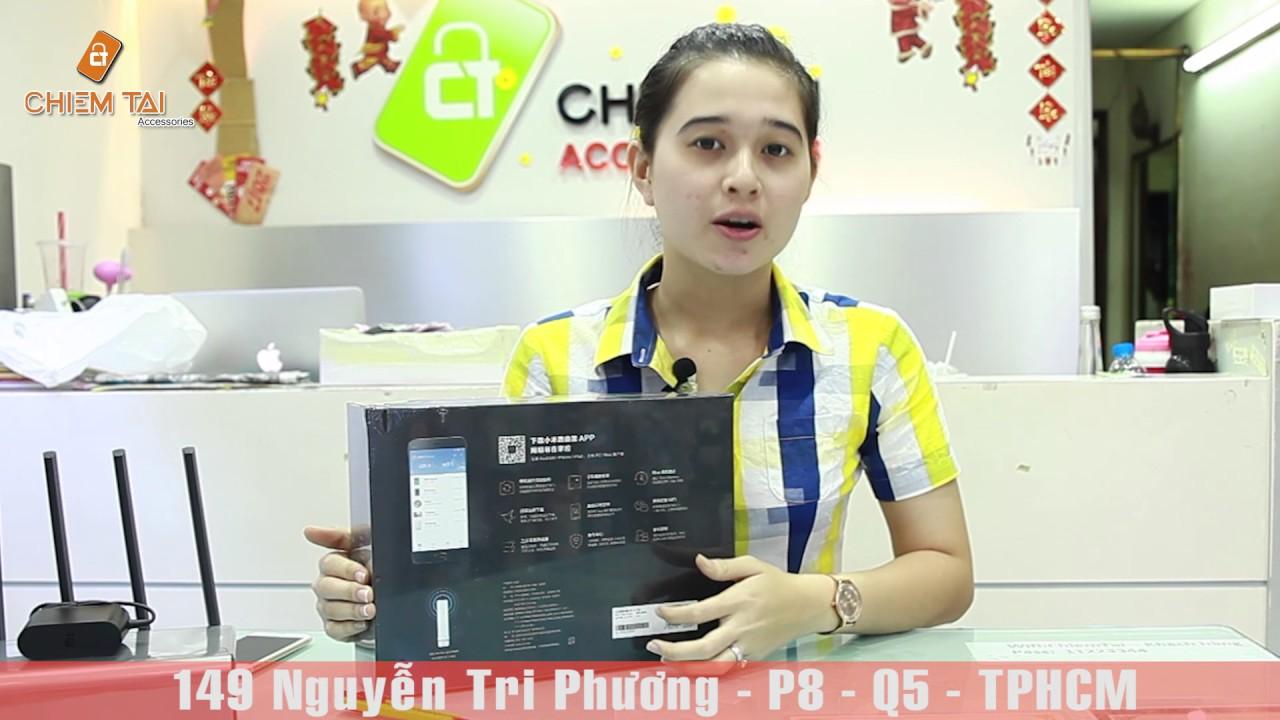 [Chiếm Tài Mobile] - Mở hộp thiết bị Xiaomi Router Pro - Xiaomi Router HD (  tích hợp ổ cứng 1Tb)