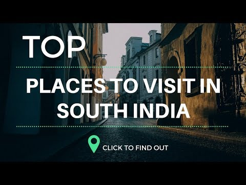 Top Tourism Place In South India 2018...!! Tourism of India...!!