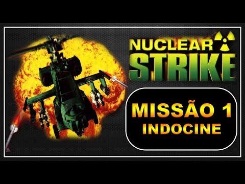 [PS1] - Nuclear Strike - [Missão 1 - Indocine] - PT-BR - [HD]