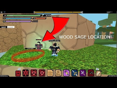 New Hashirama Wood Sage Mode *Confirmed Location* | Naruto RPG: Beyond Roblox