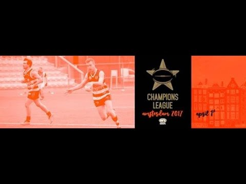 2017 AFL Europe Champions League - Afternoon Session