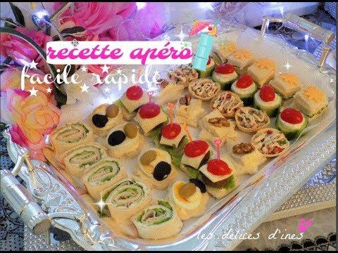 recette apero dinatoire idee buffet aperitif