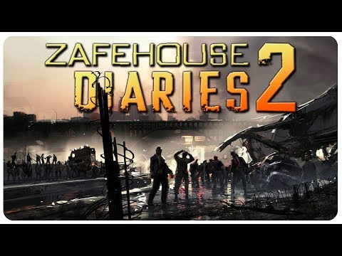 ZOMBIE SWARM Overruns Town! (Hard Mode) | Zafehouse Diaries 2 Gameplay