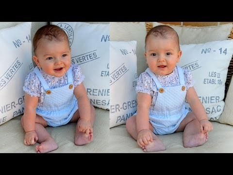 SEWING TUTORIAL: Sew a newborn baby dungarees - YouTube