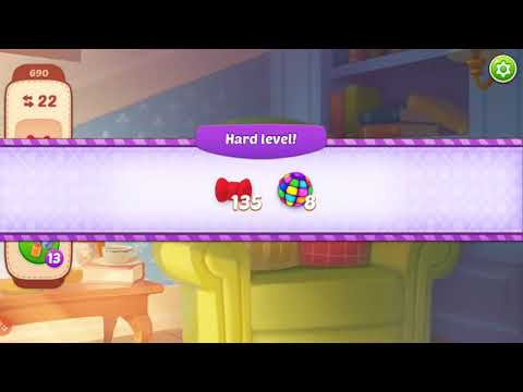 Homescapes HARD Level 690