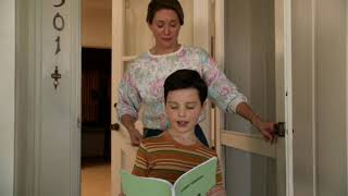 Young Sheldon goes out to play,season 1 episode 1