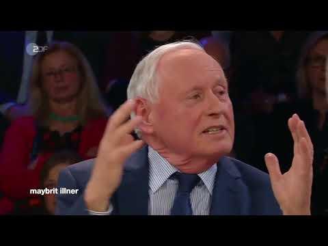 """Oskar Lafontaine: """"Wir sind der größte Sünder weltweit"""" - Maybrit Illner 15.03.2018 - Bananenepublik"""