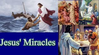Jesus' Miracles #13- Raising of Jairus Daughter pt 1