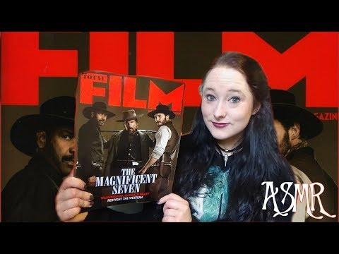 *ASMR* Leafing through Total Film magazine! (August 2016) | Amy McLean
