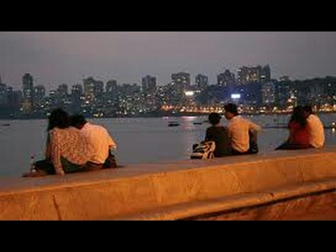 Marine Drive Mumbai | Nariman Point | Girgaon Chowpatty | Romance | A Day In Mumbai | Kiss | Couples